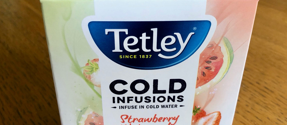 Product Review - Tetley Cold Infusions