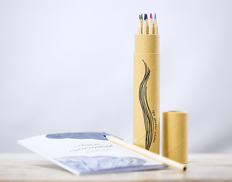 experiential journal and pencil pack