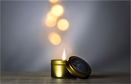 a little solace candle
