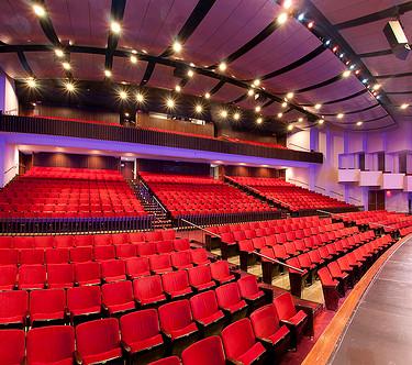 View of Auditorium Hatheway Hall