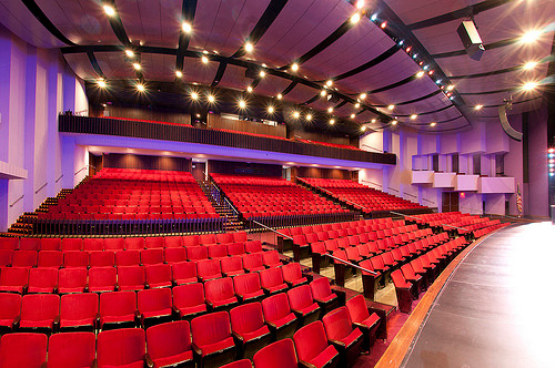 View of Auditorium Hatheway Hall