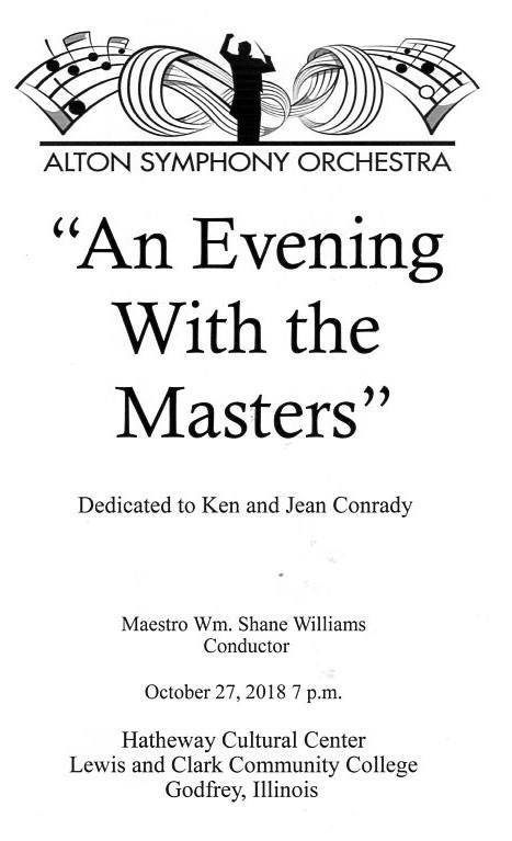 """An Evening with the Masters"""