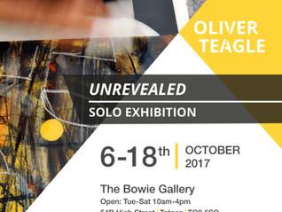 Un-Revealed: Oliver Teagle Solo Exhibition