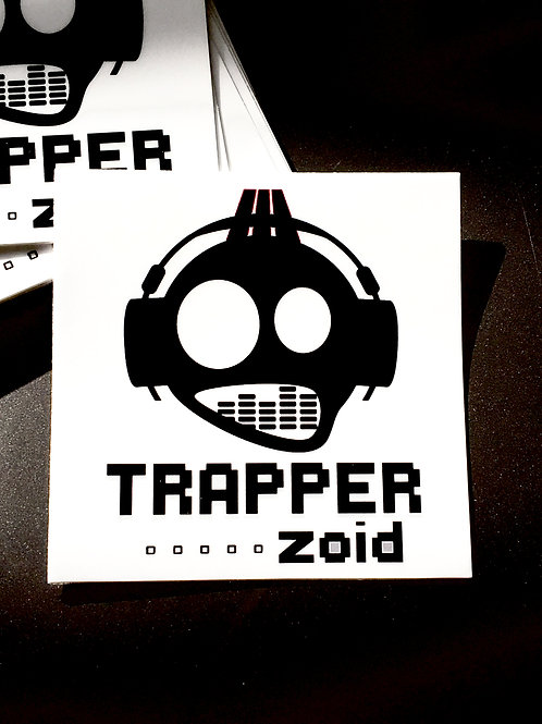 Trapper Zoid Sticker White