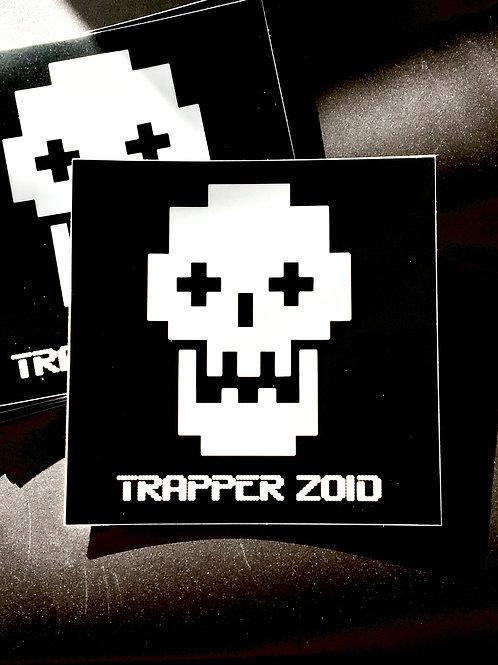 Trapper Zoid Sticker Digital Skull