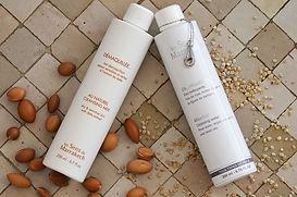 Eau micellaire et lait démaquillant Les Sens de Marrakech