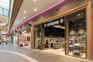 Façade Oriane Charleroi