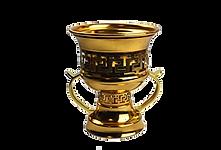 Mubkhara en métal doré