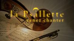 La Psallette de Genève, lien Venez Chanter