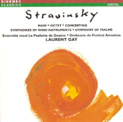 La Psallette de Genève, Stravinsky Mass CD