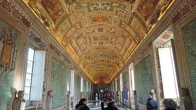 La Psallette, Vatican, plafond.