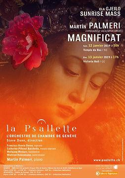 La Psallette de Genève, Gjeilo: Sunrise Mass, Palmeri: Magnificat