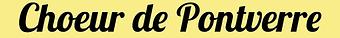 Logo Chœur de Pontverre