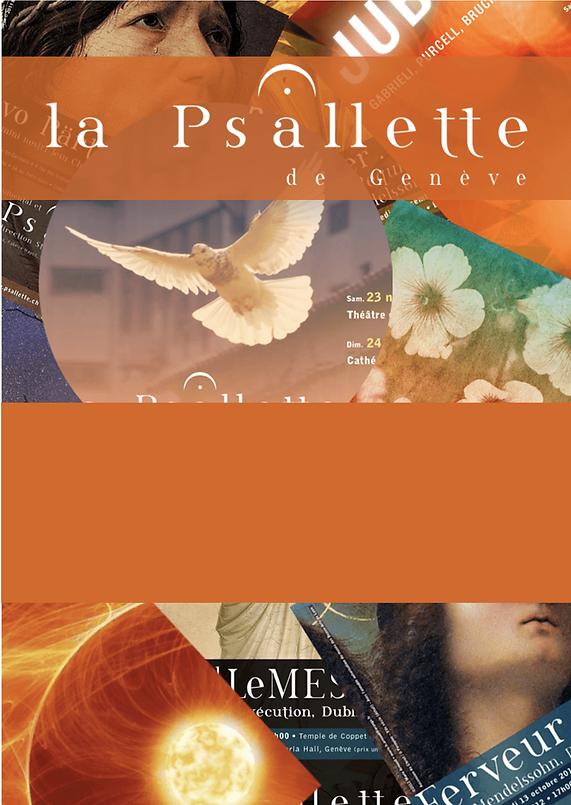 La Psallette de Genève, affiche neutre