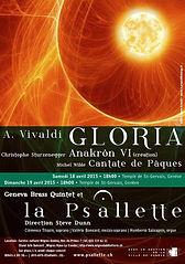 La Psallette de Genève, Vivaldi-Gloria
