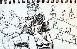 dr. sketchy's drawing session