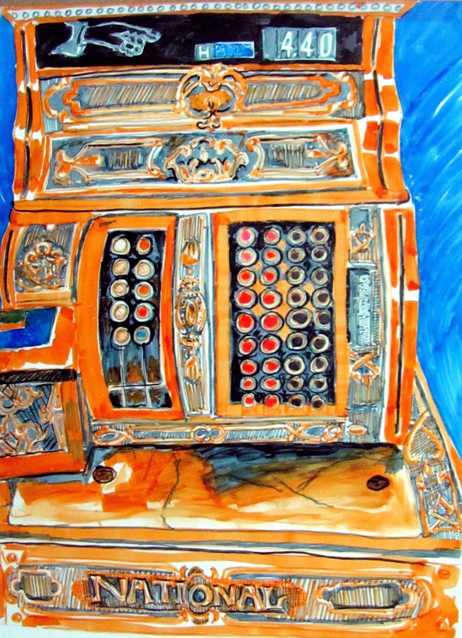 johnson's cash register
