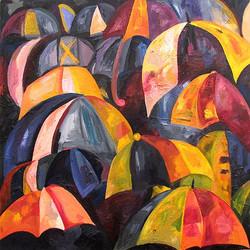 umbrellas by sarah seldomridge
