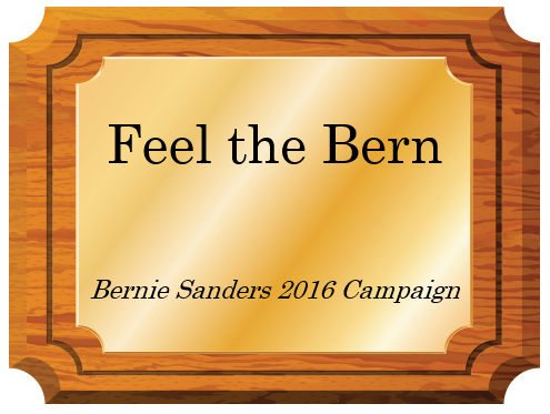 """""""Feel the Bern"""" Enters Campaign Slogan Hall of Fame"""