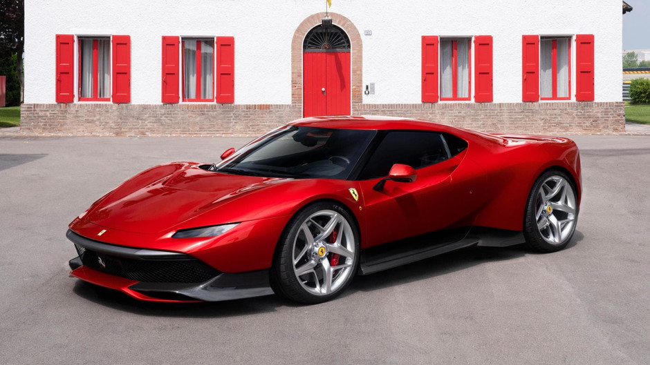 Awesome one-off Ferrari SP38 is too special to own
