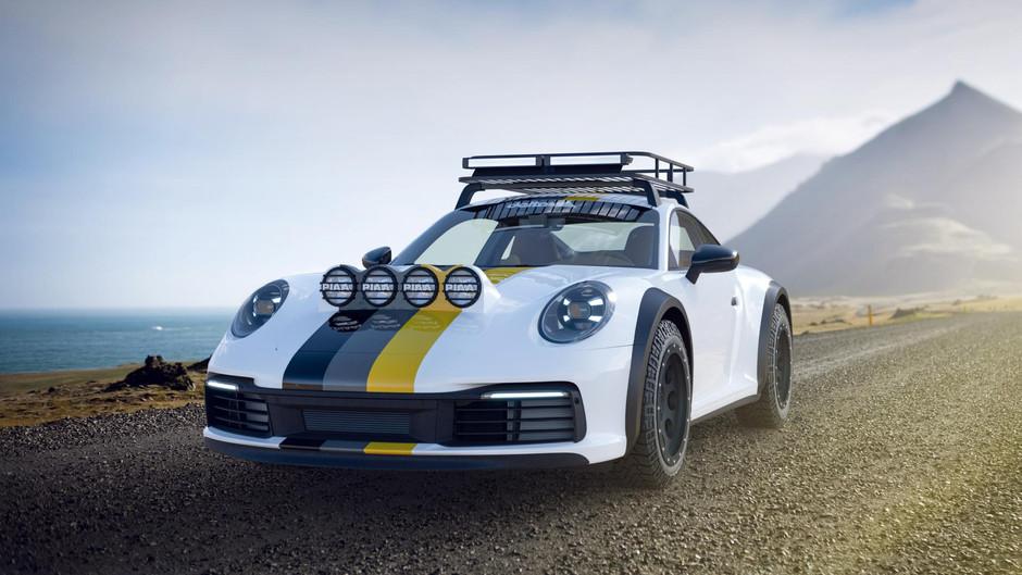 Take this Porsche 911 on safari!
