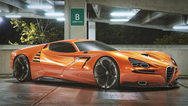 Spectacular Alfa Montreal render a thing of wonder
