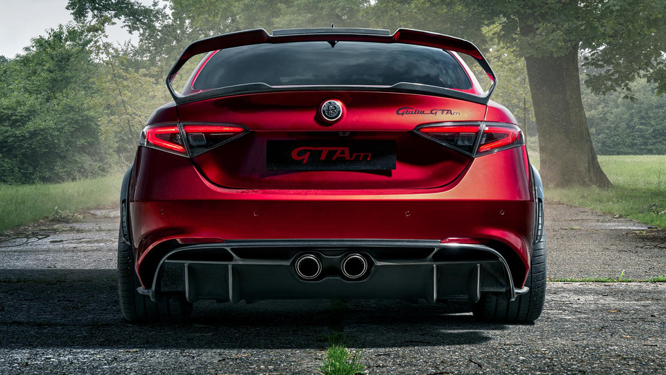 Alfa's GTA M is beautiful madness