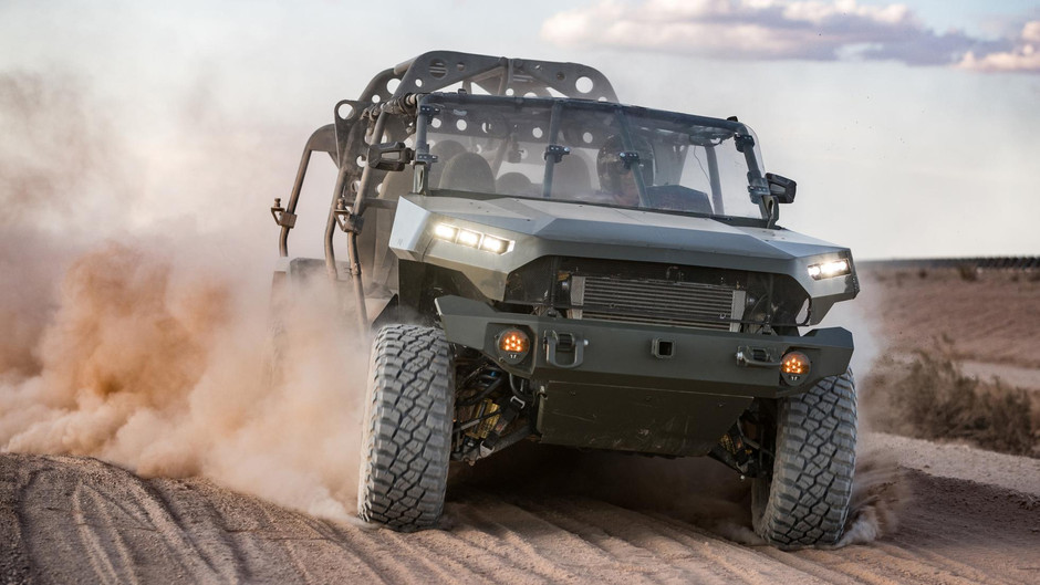 Hectic! Chevy now builds for the US army