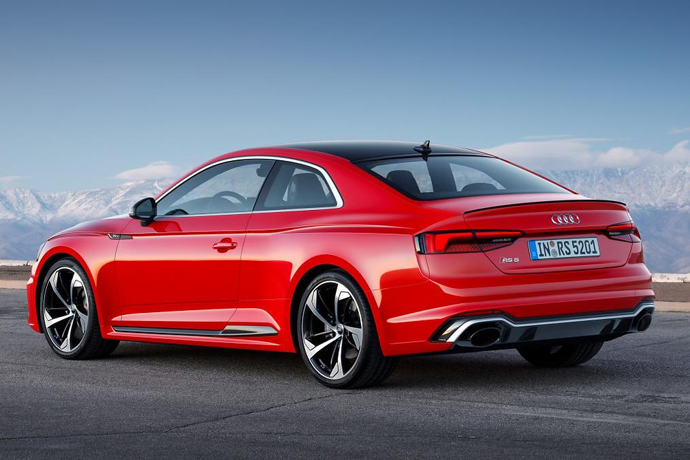 Audi RS5 from the back.
