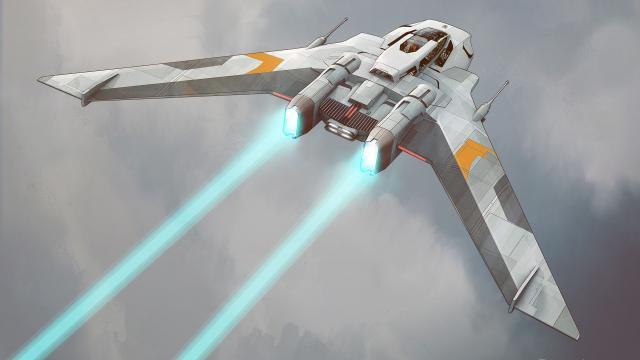 So Porsche has designed a space ship