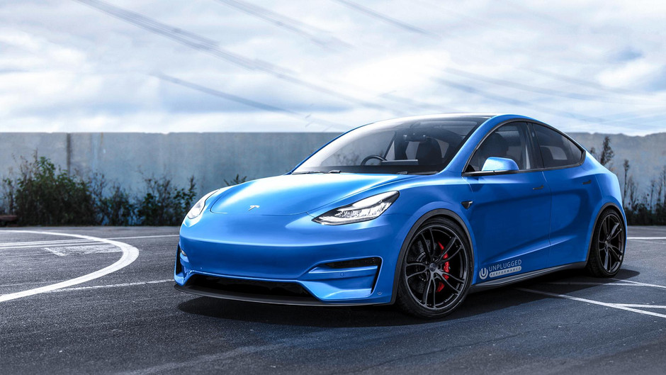 Tesla custom set to break Porsche hearts