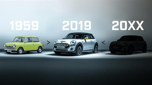 The new Mini will be small again!