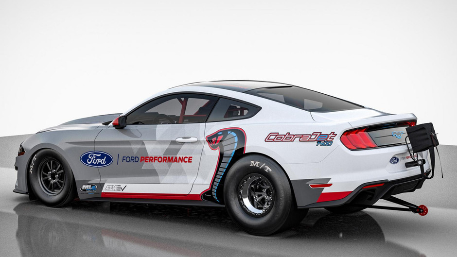Ford unveils electic Mustang monster!