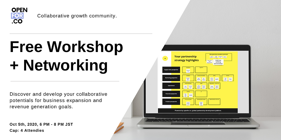 Free Workshop - Discover and develop your collaborative potentials!