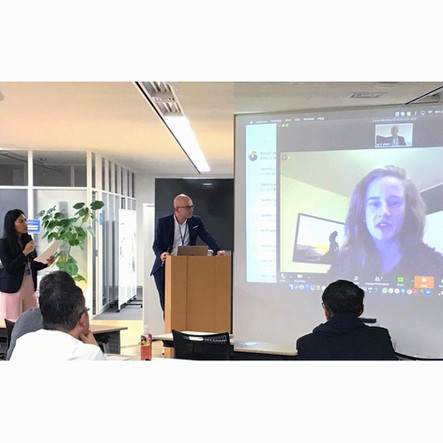 Wrap-up report after connect & pitch event at 19 Dec K-NIC - Japan