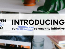 Openfor.co/fellowship announces workforce & entrepreneurship development community for the youth