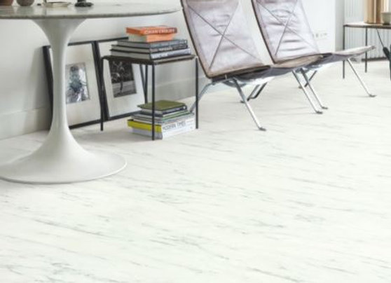 Quickstep AMBIENT CLIC (LIVYN) AMCL40136 MARBLE CARRERA WHITE