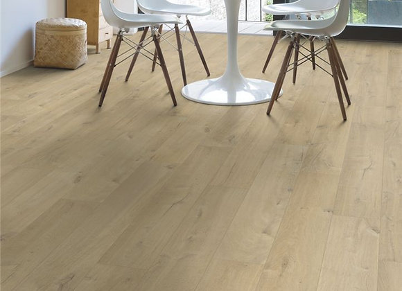 Quickstep Impressive Ultra 12mm Soft Oak Beige - Water Resistant