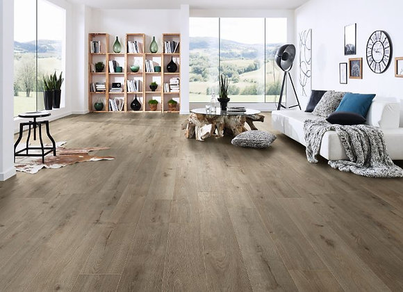 Elite 12mm Laminate Flooring Silver Shadow Oak (Only 20 Packs Left!)