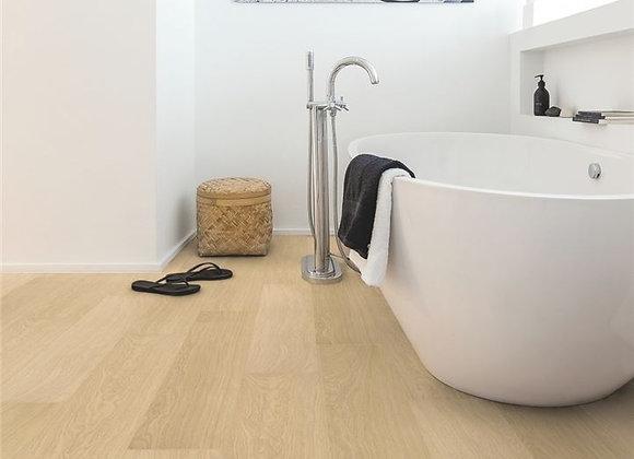 Quickstep Impressive Ultra 12mm White Varnished Oak - Water Resistant
