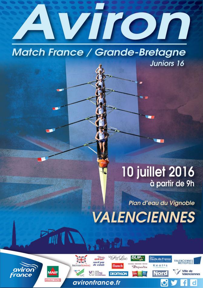 Nos J16 fraîchement médaillés à Vichy participeront au match France-Angleterre ce dimanche :