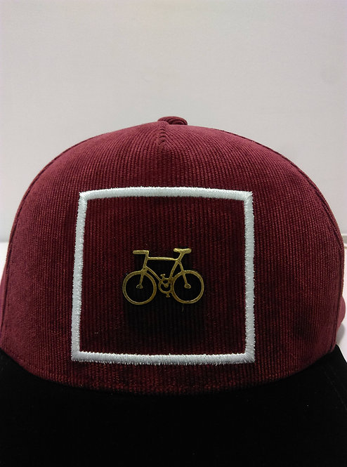 Uppertrip Hofmann Flat Cap Red Corduroy
