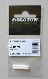 Molotow Exchange Tips: 2mm Round Tip