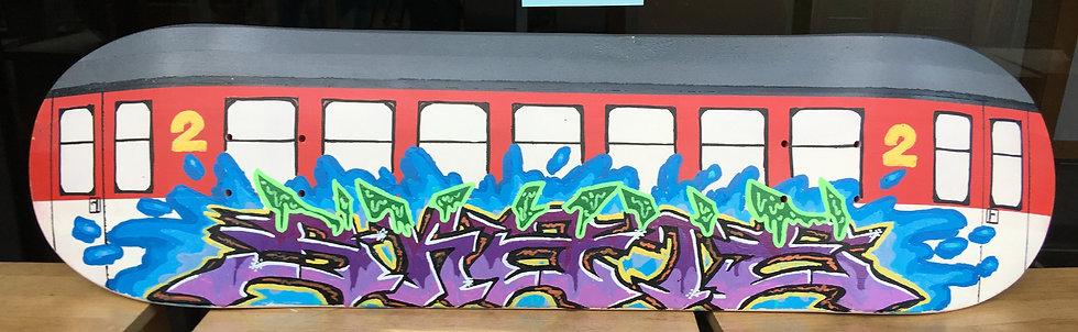 """Skate Deck """"Train"""""""