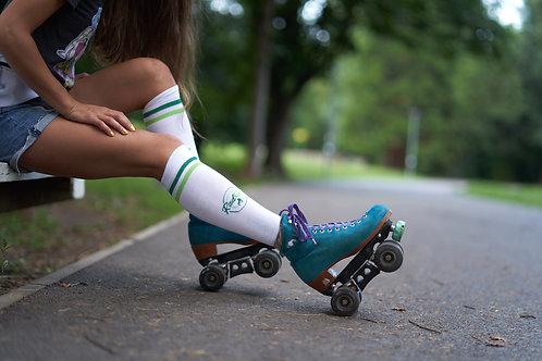 RadGal - Green Logo Socks
