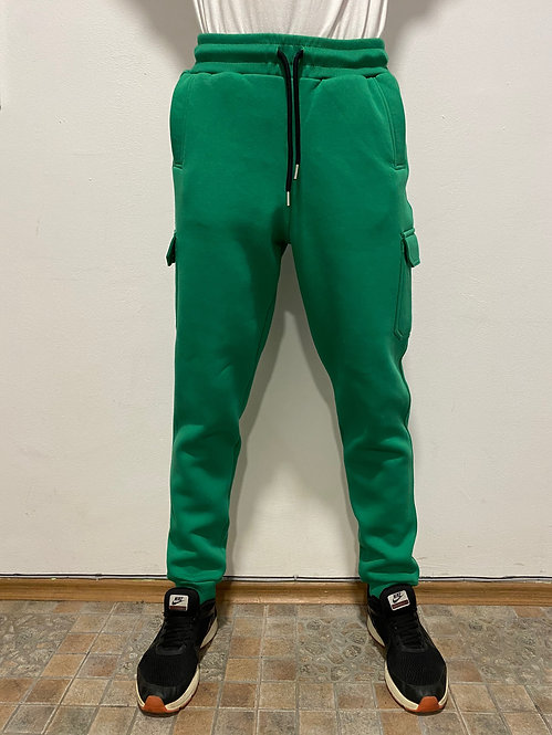 Green Winter Joggers