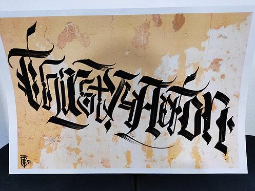 Calligracity - Thirsty 4 Action #1