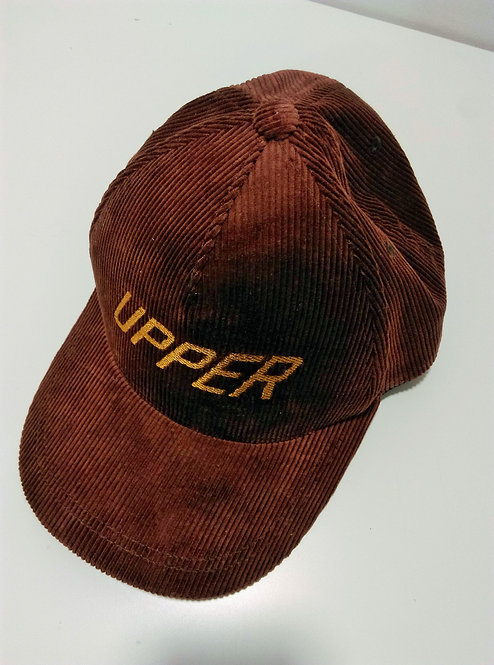 Uppertrip Original Baseball Cap Corduroy Brown