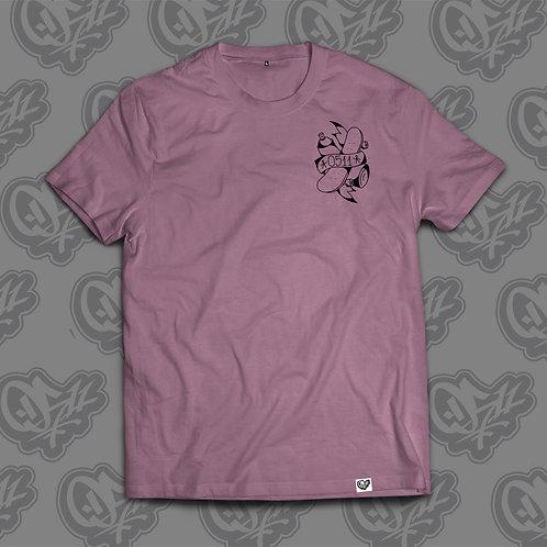 0511 Man T-shirt Skate Rat Mauve