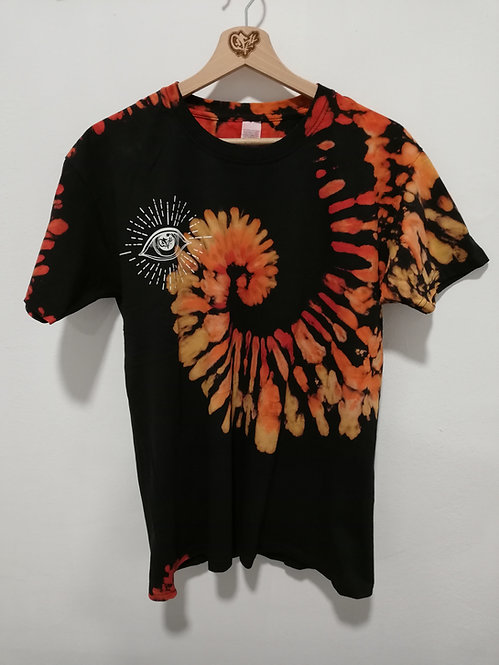 """0511 x Space Insects Man T-shirt """"Eye"""""""